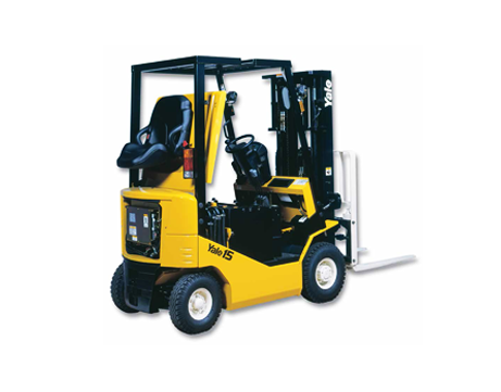 Electric Fork Lift (4-wheel)