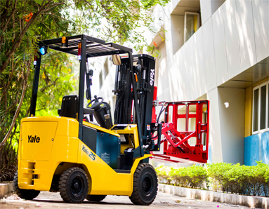Forklifts with attachments | Uni Trion